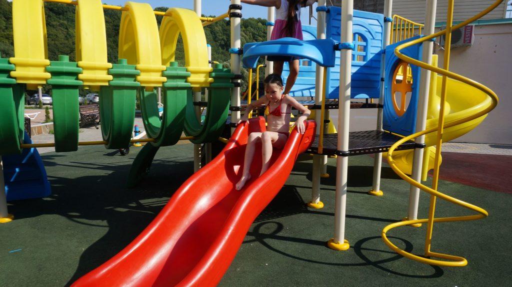 Детская площадка отеля Grand Noy